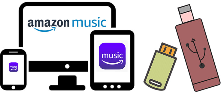 transfer amazon music to usb drive